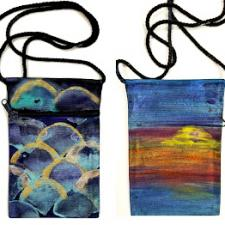 Purses & Artist Canvas Board - Catherine Tonning-Popowich