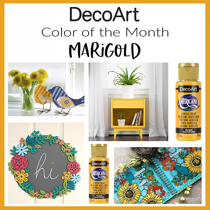 Color trends 2021: Marigold