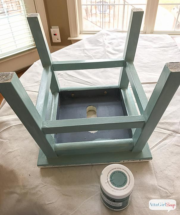even if youre an experienced furniture painter like i am its always a good idea to test out different paint formulations to see how they flow from your - Furniture Painter