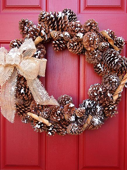 Instruction #8 - diy wreath with DecoArt