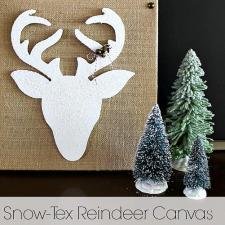 Snow-Tex Reindeer Canvas