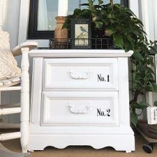 Dresser Refresh for a Spring Porch