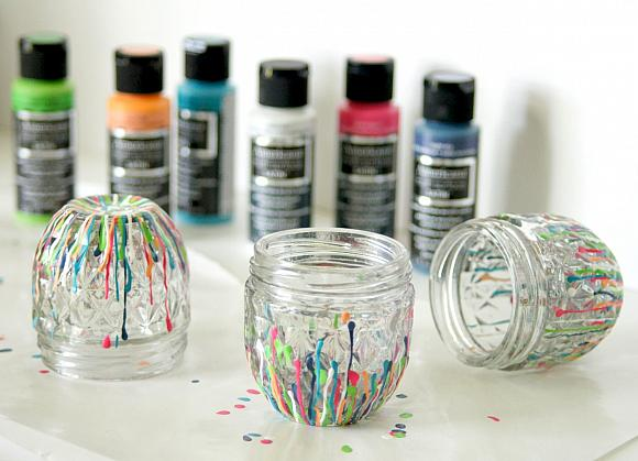Instruction #8 - drip-paint-jars26