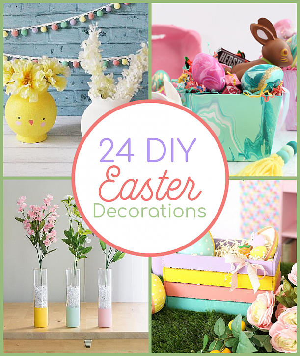 24 DIY Easter Decorations