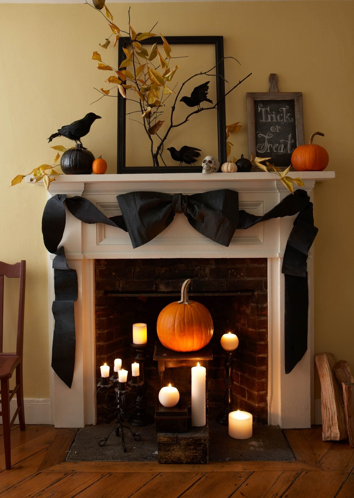 simple spooky halloween decorations