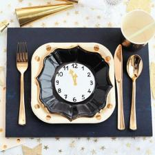 DIY New Year\'s Eve Party Placemats