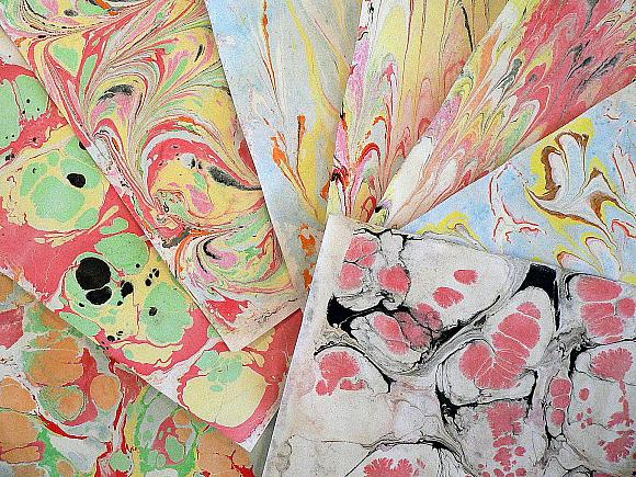 Paper Marbling Made Easy
