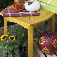 Marigold Accent Table