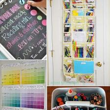 10 Must Have Back To School Organization Ideas