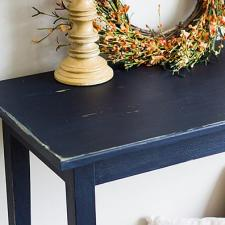 Chalky Finish Console Table by Heidi Ferguson