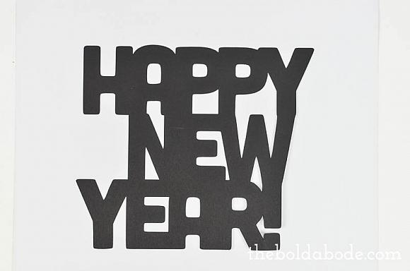 DecoArt Blog - Crafts - New Years Party Signs