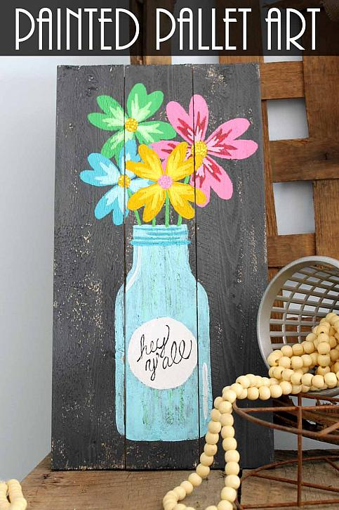 Painted Pallet Art