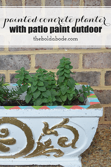 Decoart Blog Crafts Painted Concrete Planters
