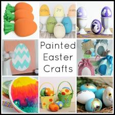 Painted Easter Egg Décor