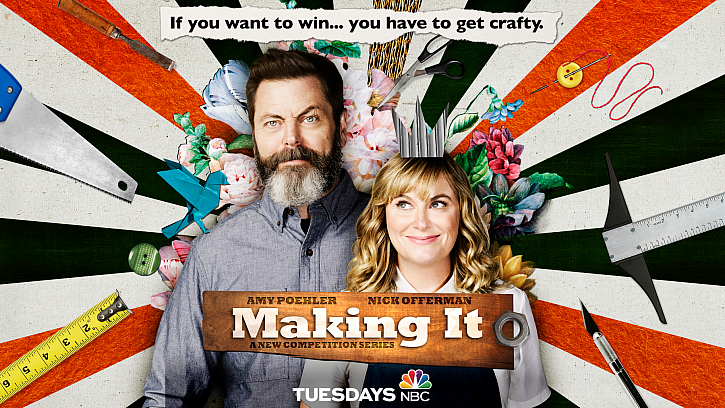 NBC's Making It – See DecoArt & Damask Love in Action!
