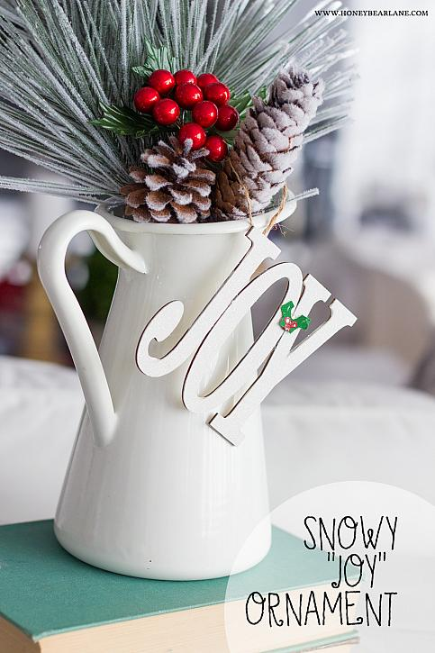 Snowy Joy Ornament