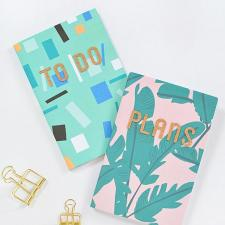 DIY Notebooks and Pencil Pouches