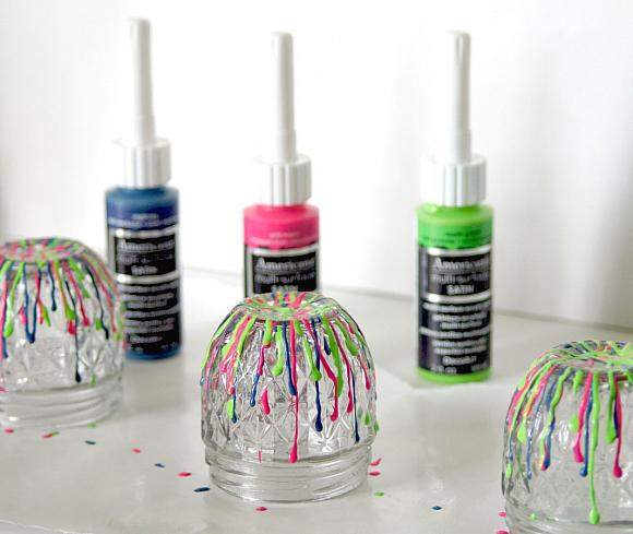 Instruction #6 - trendy-drip-paint-jars