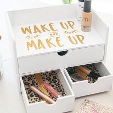 DIY Makeup Organizer by Courtney Sanchez