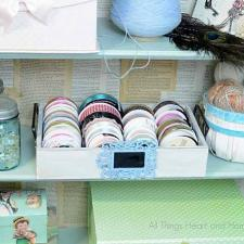 Easy Ribbon Storage