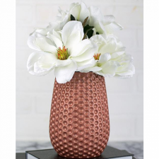 Rose Gold Matte Metallics Vase