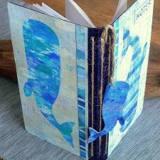 Pods of Whales Notebook - Claudia Neubacher