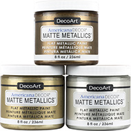 Americana Decor® Matte Metallics ™