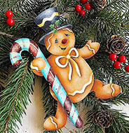 Painted Gingerbread Man