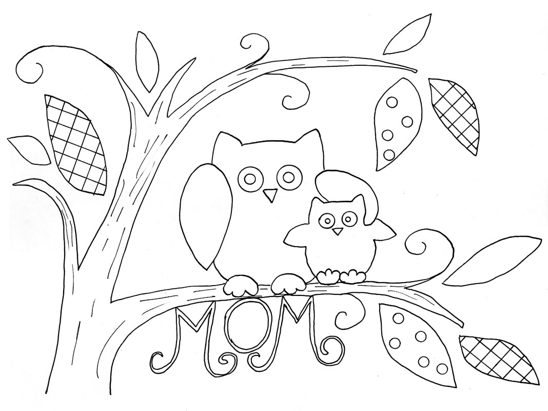 Momma And Baby Owl Tray Project By Decoart