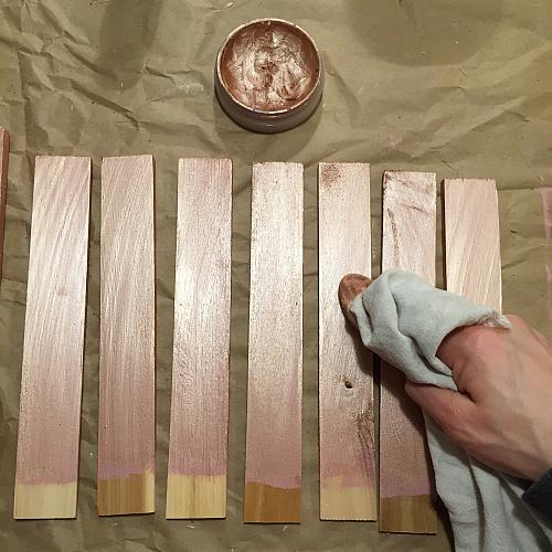 Rose Gold Wall Paint Color