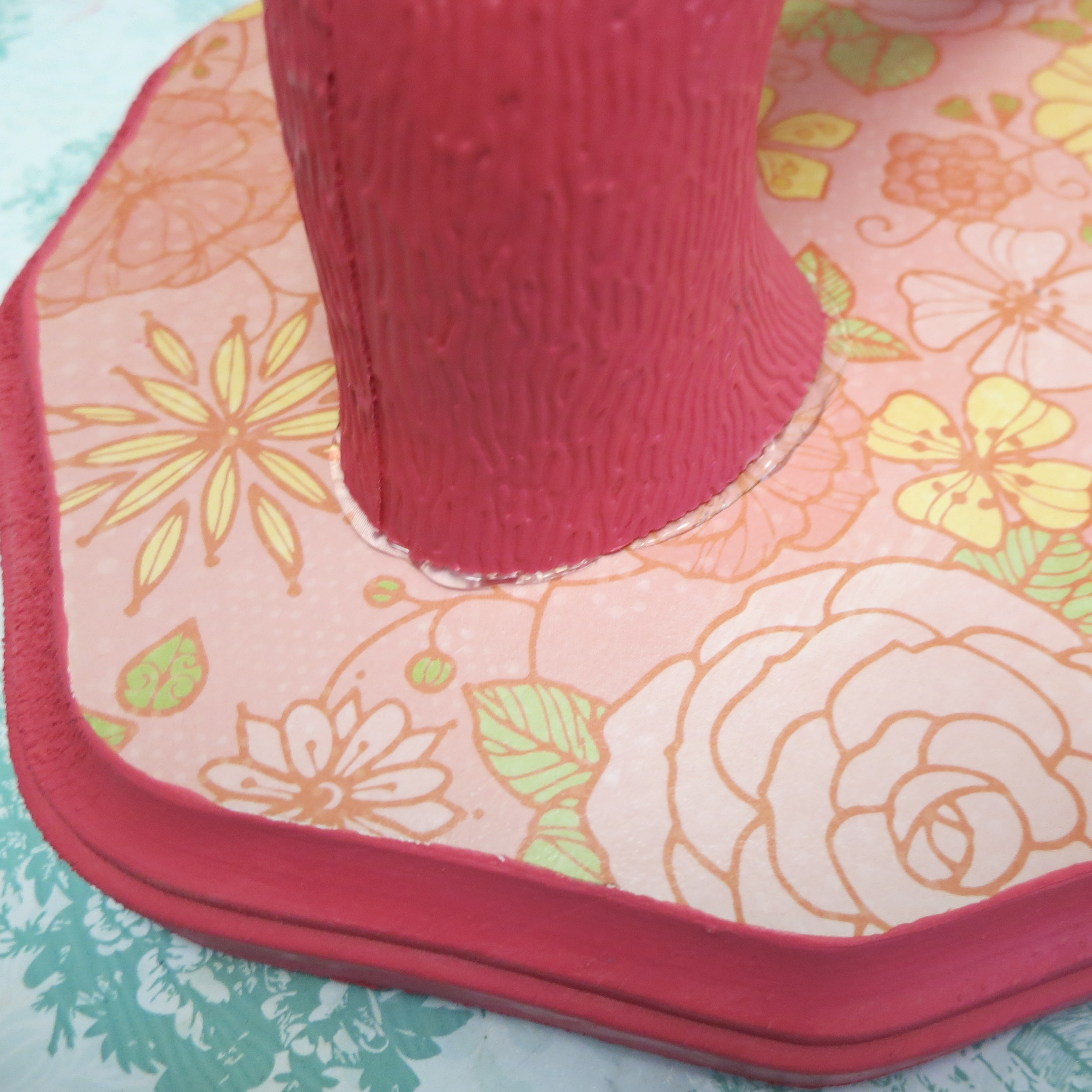 attach the neck onto the plaque with e6000 glue i use a bit of hot glue to hold the piece in place while the e6000 dries