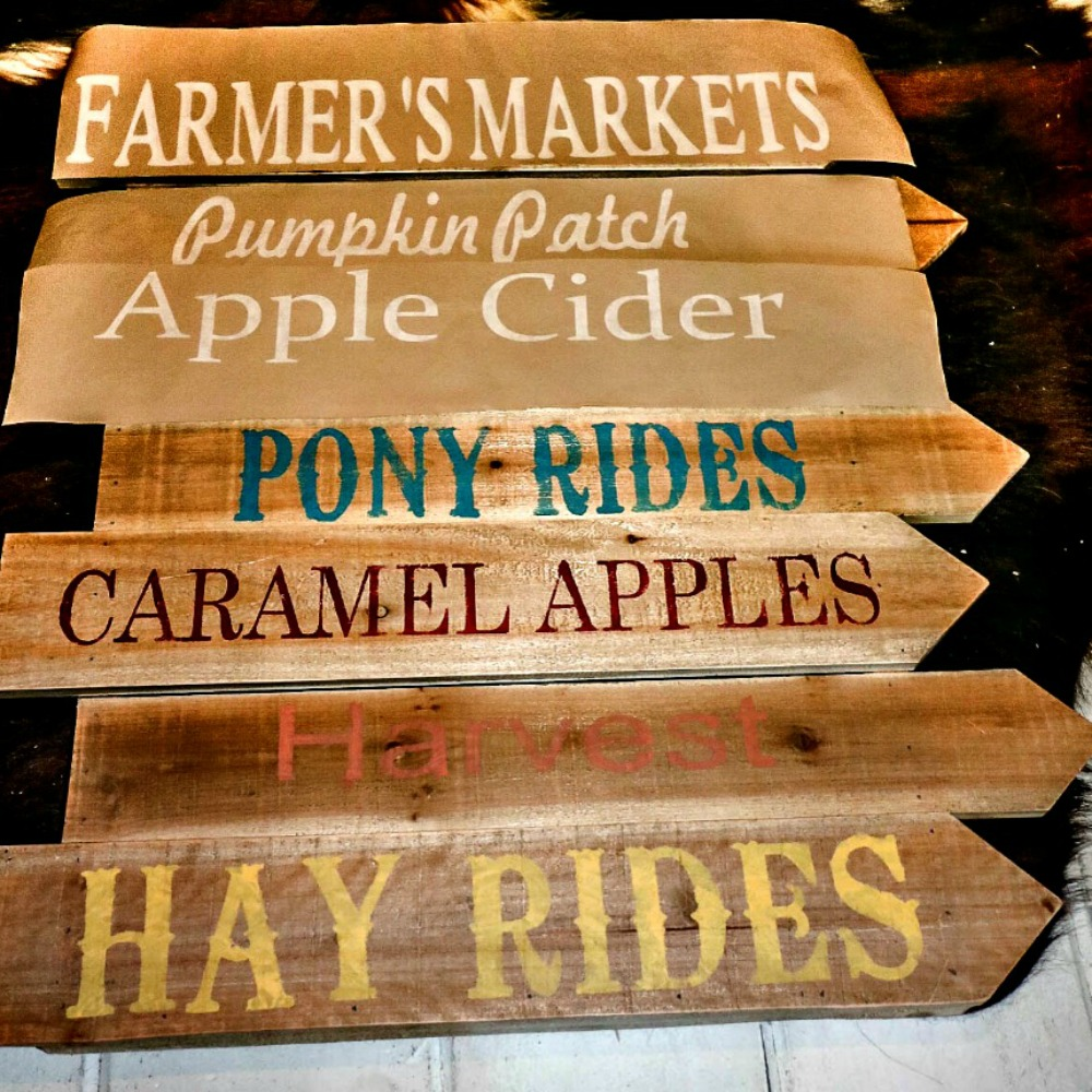 Fall Fun Wooden Sign Project By Decoart