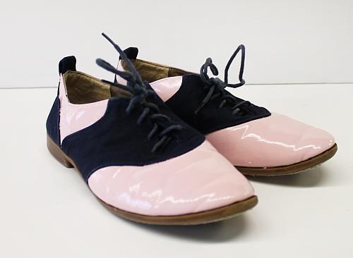 Upcycled Pink Oxford Shoes Project By DecoArt - How to get paint off shoes