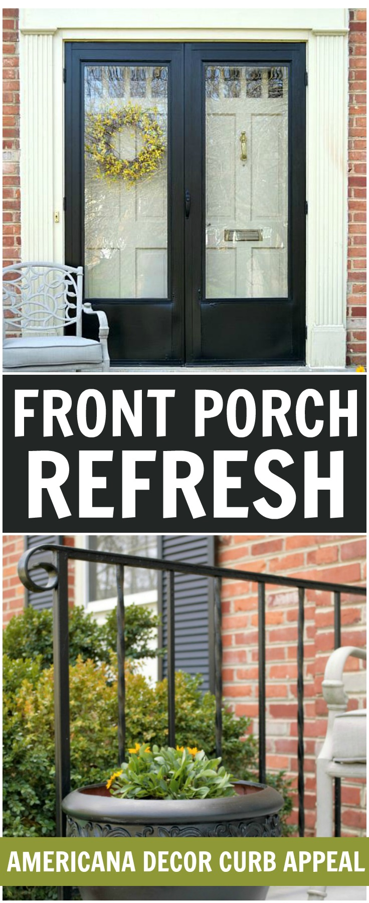 Front Porch Refresh