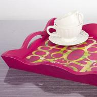 Hot Pink Numeric Tray