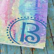 Pastel Initial Journal