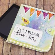 Colorful Inspirational Tablet Case
