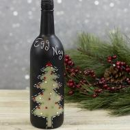 Chalkboard Wine Bottle