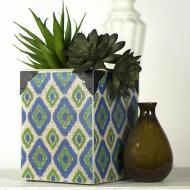 Ikat Diamond Planter