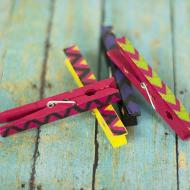 Tribal Clothespins