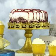 Glittery Gold Cake Stand