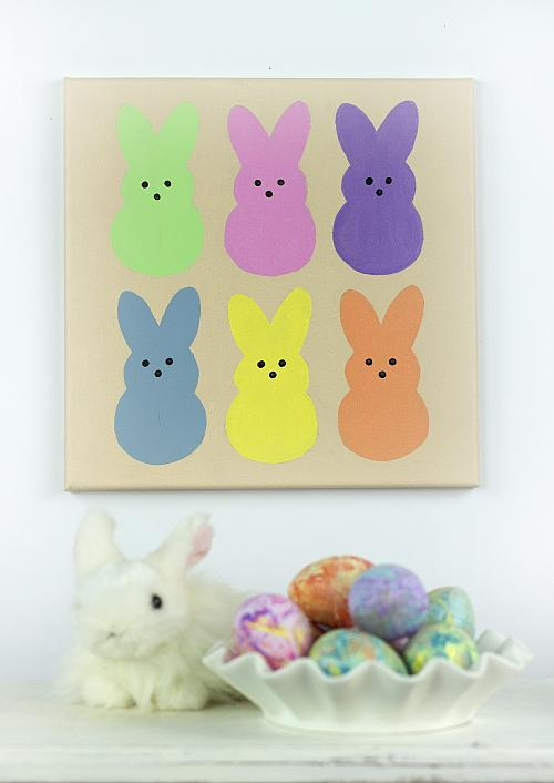 easter peeps174 pastel painting project by decoart