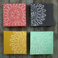 Doily Art Canvases