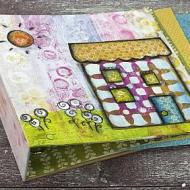 Mixed Media House Binder