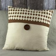 Distressed Harlequin Pillow
