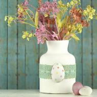 Easter Chalky Finish Flowers