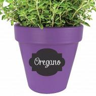 Labeled Herb Pot
