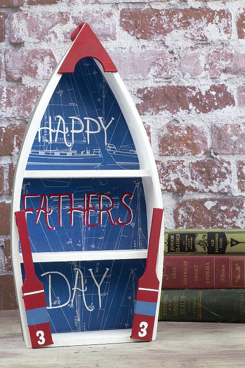 Nautical Father's Day Boat Décor - Project by DecoArt