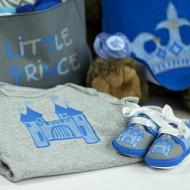 Castle Onesie and Shoes Set