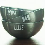 Family Personalized Bowls
